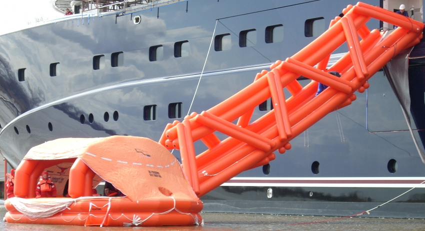 Marine Evacuation Systems Mes Liferaft Systems Australia